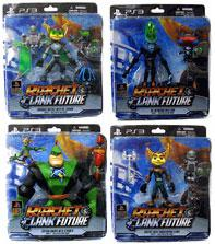 DC Direct Ratchet and Clank Future Series 1 Set of 4 Action Figures