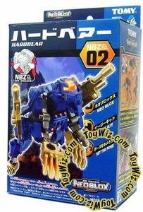 Zoids NEOBLOX Tomy Japanese Action Model Kit NBZ-02 Hard Bear