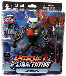 DC Direct Ratchet and Clank Future Series 2 Action Figure Azimuth with Orvus