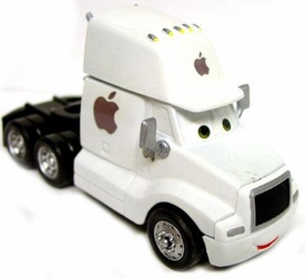 Disney / Pixar CARS Movie 1:55 Die Cast Car Oversized CUSTOM PAINTED Vehicle Apple iCab