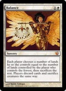 Magic the Gathering From the Vault: Exiled Single Card Mythic Rare #1 Balance Alternate Art! Foil!