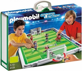 Playmobil Soccer Set #4725 Take Along Soccer Match