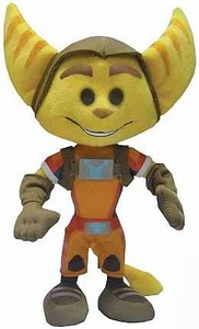 Mezco Ratchet and Clank All 4 One 8 Inch Plush Ratchet