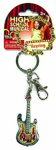 High School Musical Pewter Guitar Keyring Style #27035 BLOWOUT SALE!