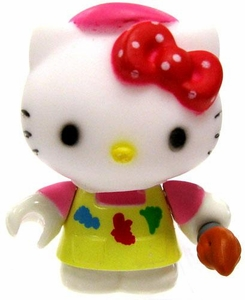 Hello Kitty Mega Bloks LOOSE Series 2 Mini Figure Artist Kitty