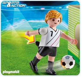 Playmobil Soccer Player Set #4729 Germany