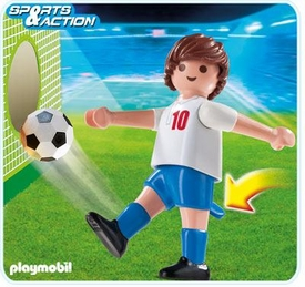 Playmobil Soccer Player Set #4732 England