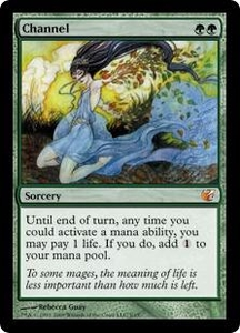 Magic the Gathering From the Vault: Exiled Single Card Mythic Rare #3 Channel Alternate Art! Foil!