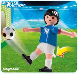 Playmobil Soccer Player Set #4733 France