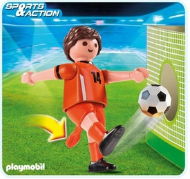 Playmobil Soccer Player Set #4735 Netherlands