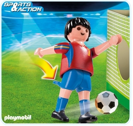 Playmobil Soccer Player Set #4730 Spain