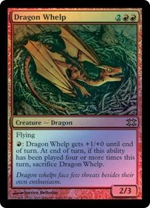 Magic the Gathering From the Vault: Dragons Single Card Rare #4 Dragon Whelp [Foil]