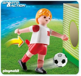 Playmobil Soccer Player Set #4731 Poland