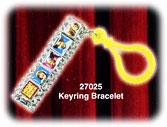 High School Musical Keyring Bracelet Style #27025 BLOWOUT SALE!