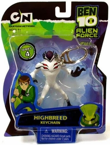 Ben 10 Alien Force Series 4 Keychain Highbreed