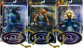 Halo 2 Limited Edition Series 2 Set of 3 Action Figures