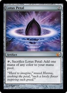 Magic the Gathering From the Vault: Exiled Single Card Mythic Rare #7 Lotus Petal Foil!