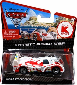 Disney / Pixar CARS 2 Movie Exclusive 1:55 Die Cast Car with Synthetic Rubber Tires Shu Todoroki