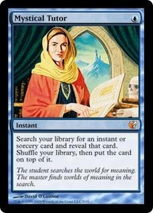 Magic the Gathering From the Vault: Exiled Single Card Mythic Rare #8 Mystical Tutor Foil!