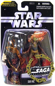 Star Wars Saga 2006 Basic Action Figure #16 Sun Fac