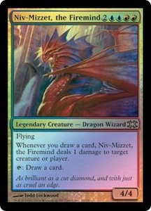 Magic the Gathering From the Vault: Dragons Single Card Rare #11 Niv-Mizzet, the Firemind [Foil] Great for Commander!
