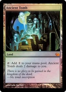 Magic: The Gathering From the Vault: Realms Single Card Land Mythic Rare #1 Ancient Tomb