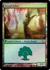 Magic: The Gathering From the Vault: Realms Single Card Land Mythic Rare #5 Dryad Arbor