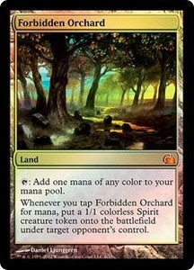 Magic: The Gathering From the Vault: Realms Single Card Land Mythic Rare #6 Forbidden Orchard
