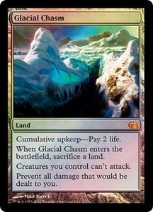 Magic: The Gathering From the Vault: Realms Single Card Land Mythic Rare #7 Glacial Chasm
