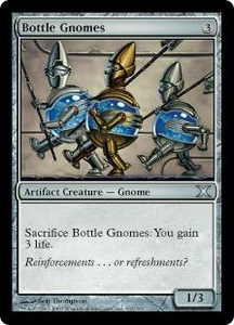 Magic the Gathering Tenth Edition Single Card Uncommon #312 Bottle Gnomes