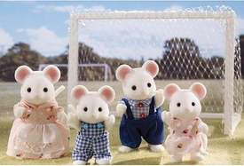 Calico Critters Miniature Animal Family Playset Milky Mouse Family