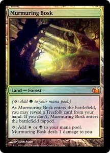 Magic: The Gathering From the Vault: Realms Single Card Land Mythic Rare #11 Murmuring Bosk