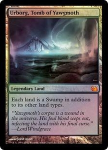 Magic: The Gathering From the Vault: Realms Single Card Land Mythic Rare #13 Urborg, Tomb of Yawgmoth