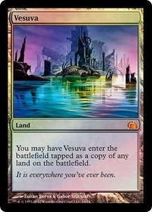 Magic: The Gathering From the Vault: Realms Single Card Land Mythic Rare #14 Vesuva