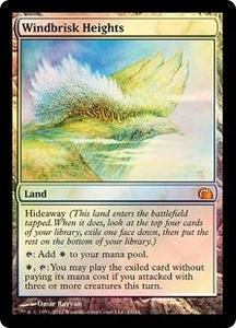 Magic: The Gathering From the Vault: Realms Single Card Land Mythic Rare #15 Windbrisk Heights