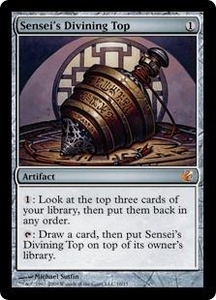 Magic the Gathering From the Vault: Exiled Single Card Mythic Rare #10 Sensei's Divining Top Foil!