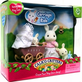 Calico Critters Minifigure Create Your Very Own Story Connor & Kerris Carriage Ride