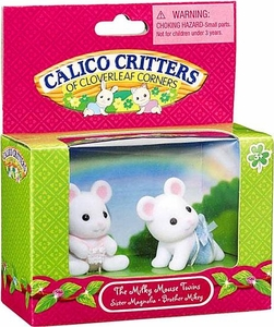 Calico Critters Minifigure 2-Pack The Milky Mouse Twins