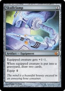 Magic the Gathering From the Vault: Exiled Single Card Mythic Rare #12 Skullclamp Foil!