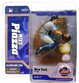 McFarlane Toys MLB Sports Picks Series 11 Action Figure Mike Piazza (New York Mets) Grey Jersey Variant