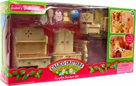 Calico Critters Complete Furniture Set Sisters Bedroom Set
