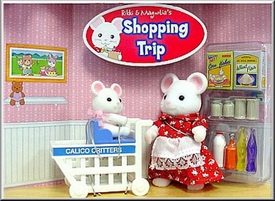 Calico Critters Minifigure Create Your Very Own Story Rikki & Magnolias Shopping Trip