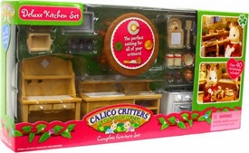 Calico Critters Complete Furniture Set Deluxe Kitchen Set