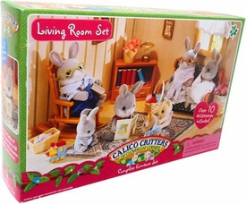 Calico Critters Complete Furniture Set Living Room Set