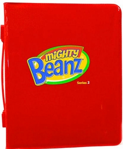 Mighty Beanz Series 2 {Red} Collector Carrying Case [Includes 2 Exclusive Special Edition Mighty Beanz!]