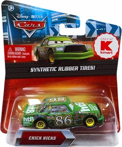 Disney / Pixar CARS Movie Exclusive 1:55 Die Cast Car with Synthetic Rubber Tires Chick Hicks