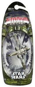 Star Wars Titanium Series Diecast Mini ARC-170 Starfighter [Green] BLOWOUT SALE!