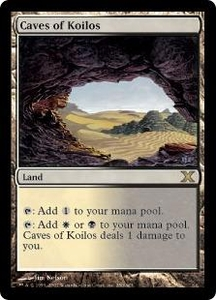 Magic the Gathering Tenth Edition Single Card Rare #350 Caves of Koilos