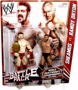 Mattel WWE Wrestling Basic Series 21 Action Figure 2-Pack Sheamus & Randy Orton [World Heavyweight Championship Belt!]