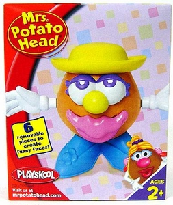 Mini Mrs Potato Head Yellow Hat Figure